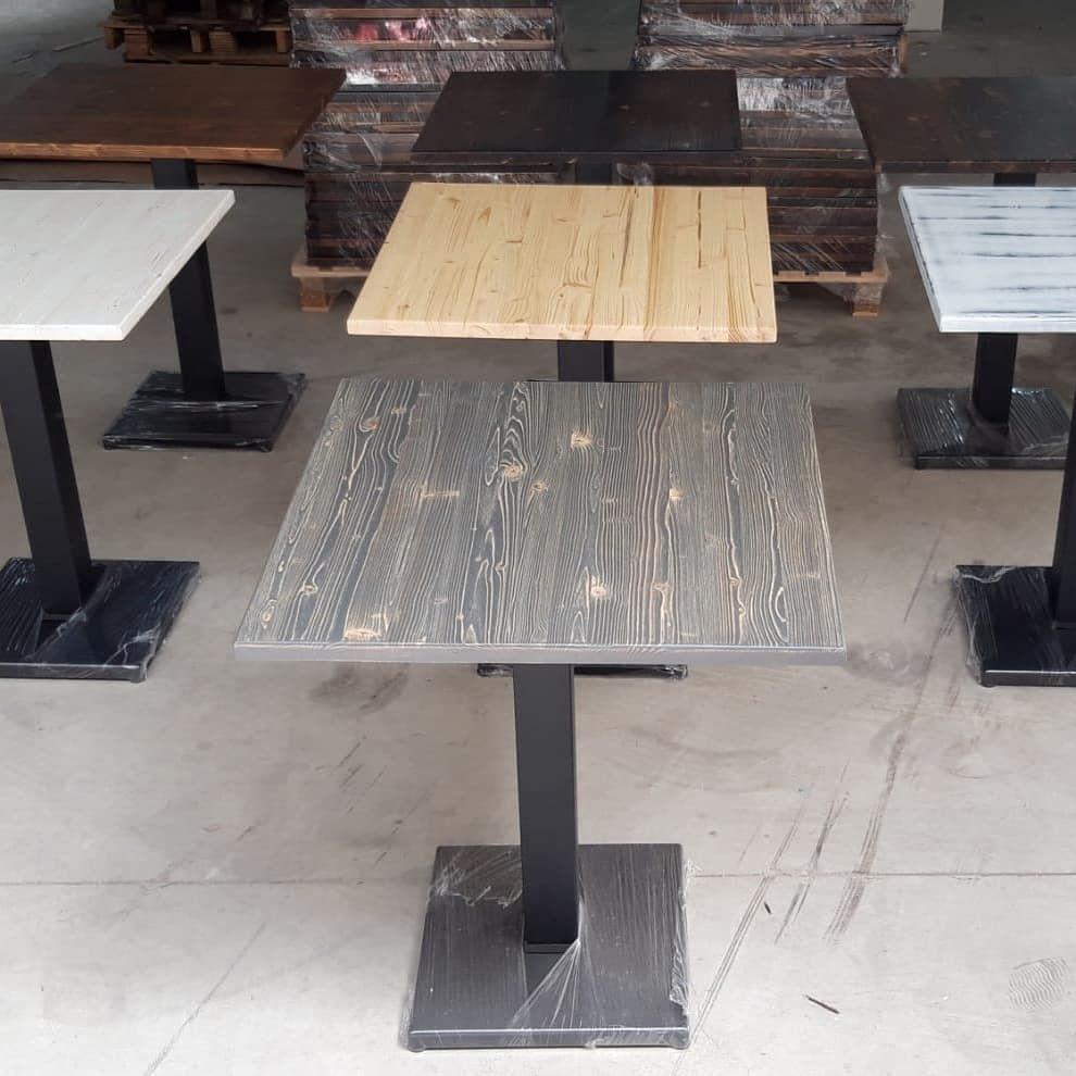 Tavolo Con Piede Centrale piani per tavolini bar