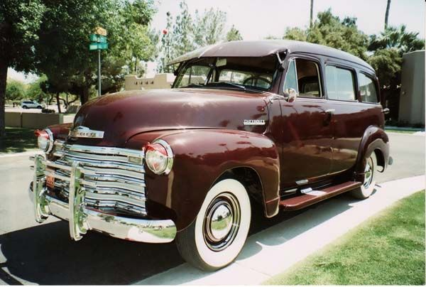 Chevrolet Suburban Carryall 1951 Submitted By Rick Feibusch 2009