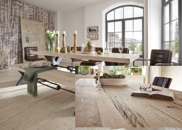 alte eiche esstisch kansas tischplatte aus recycelter eiche auch reclaimed oak genannt ab. Black Bedroom Furniture Sets. Home Design Ideas
