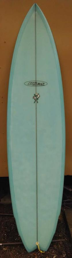 Used Kies Double Wing Swallow Tail Shortboard - 7'
