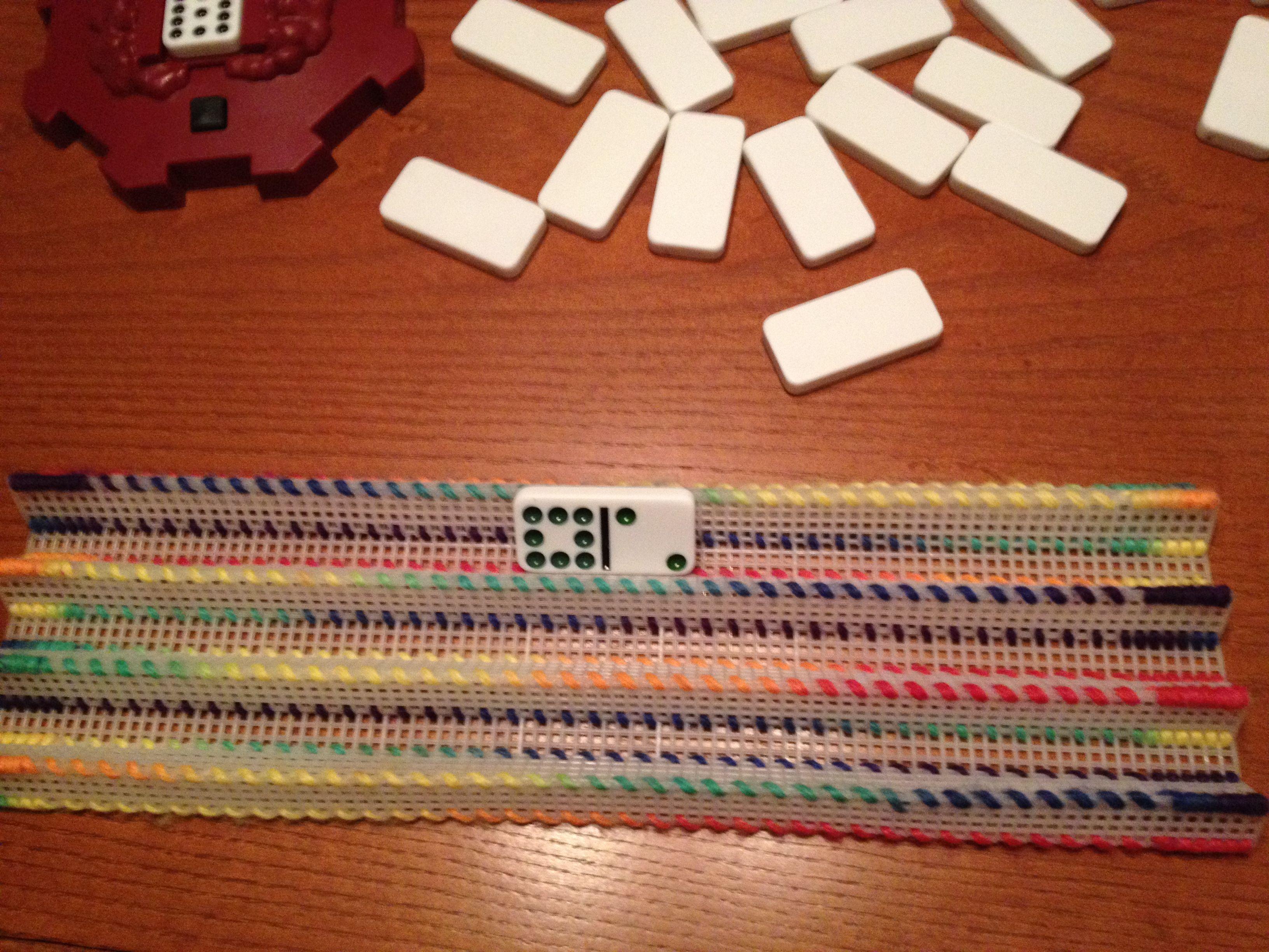 1 of 3 domino holder   Craft Ideas   Pinterest   Plastic ...