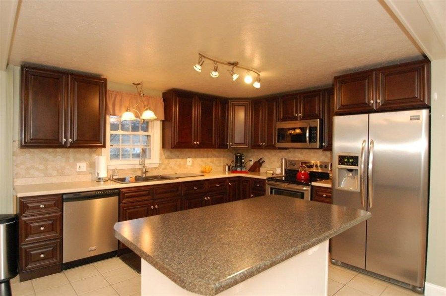 raised ranch kitchen island  google search  kitchen