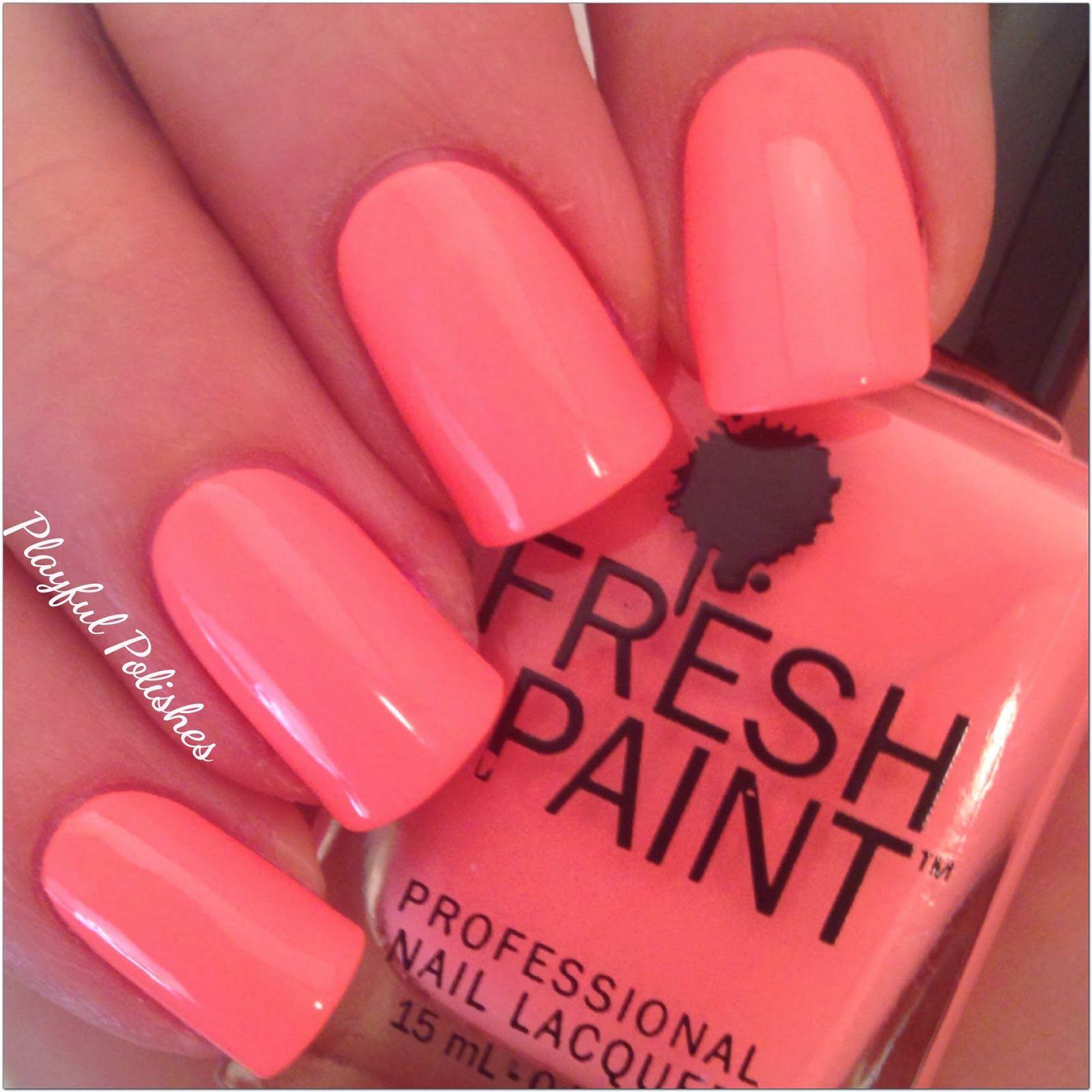 Fresh Paint - Guava   Nail Polish Colors I Already Own   Pinterest ...