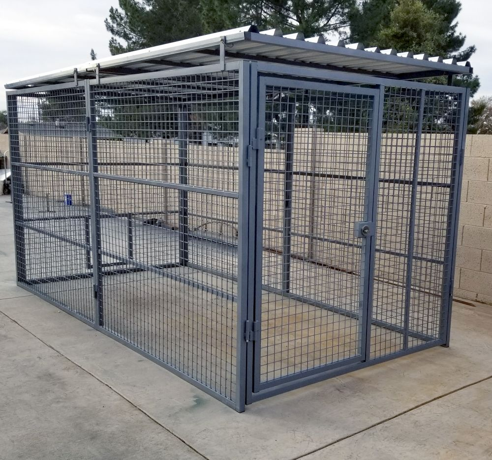 Commercial Quality Outside Dog Kennels Single Runs Select Dog Run 5 W X 10 L X 6 H In 2021 Outside Dogs Dog Kennel Outdoor Dog Kennel Designs Outdoor dog kennel roof ideas