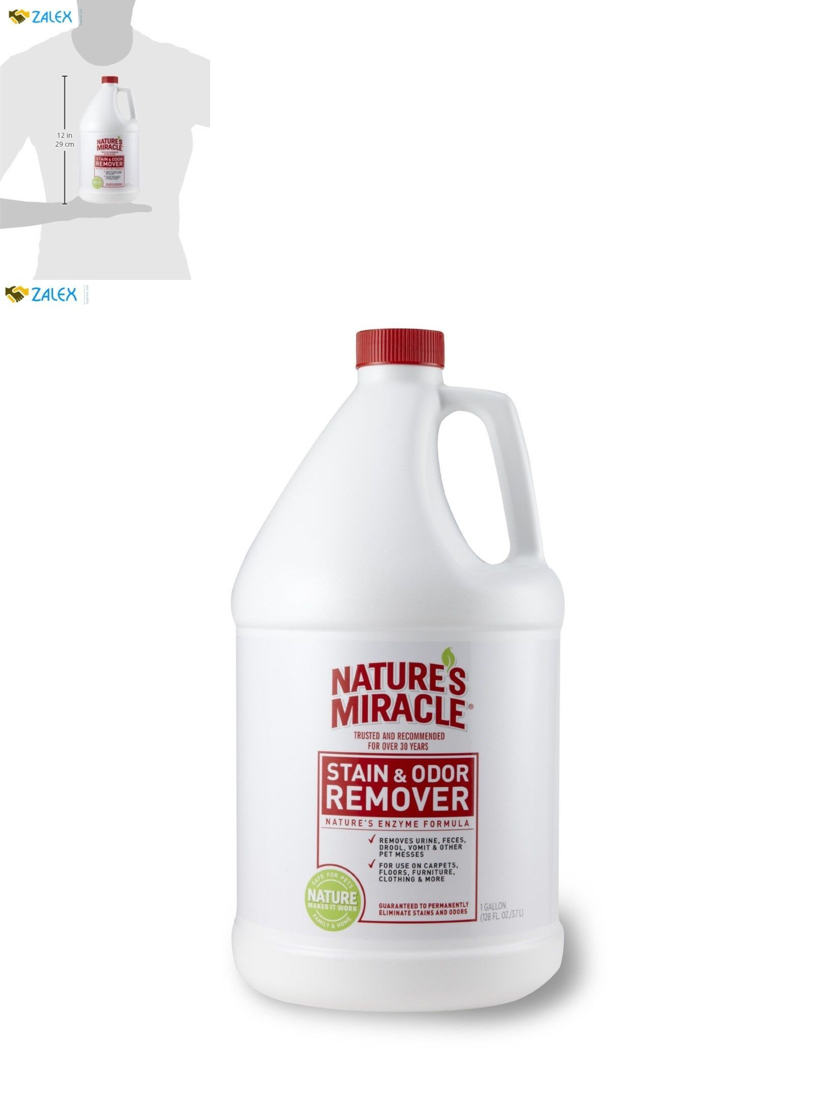 Odor And Stain Removal 134755 Nature S Miracle Stain Odor Remover
