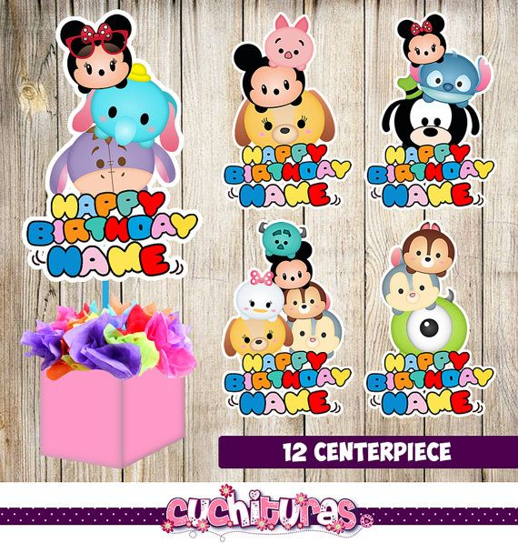 Tsum Tsum Birthday Decorations Canada