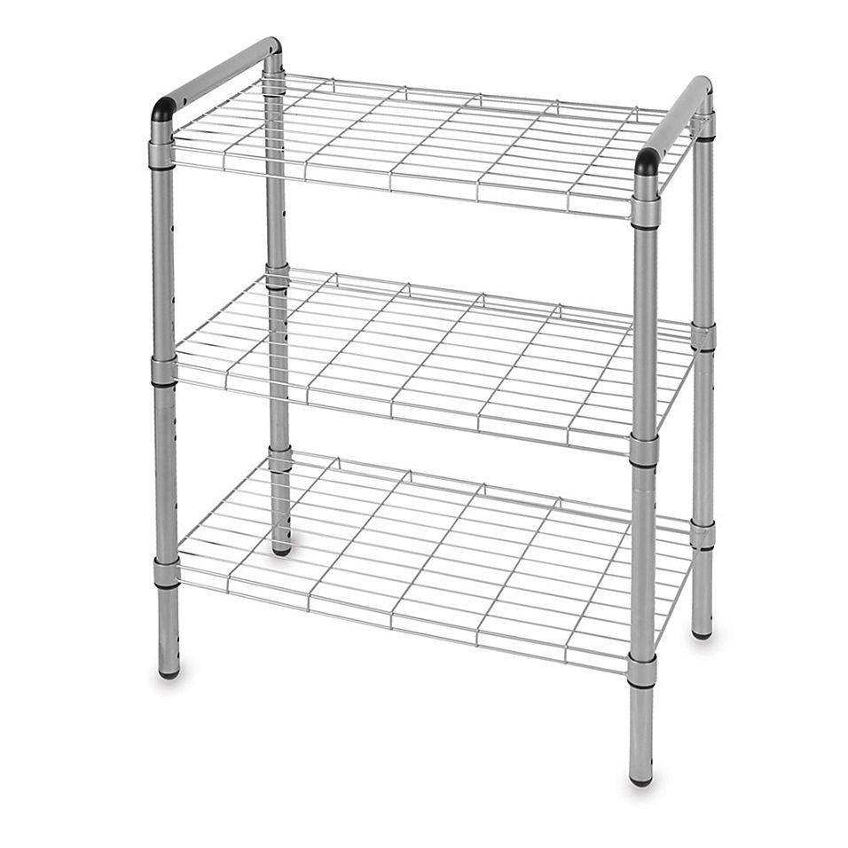 3-Tier Adjustable Storage Rack