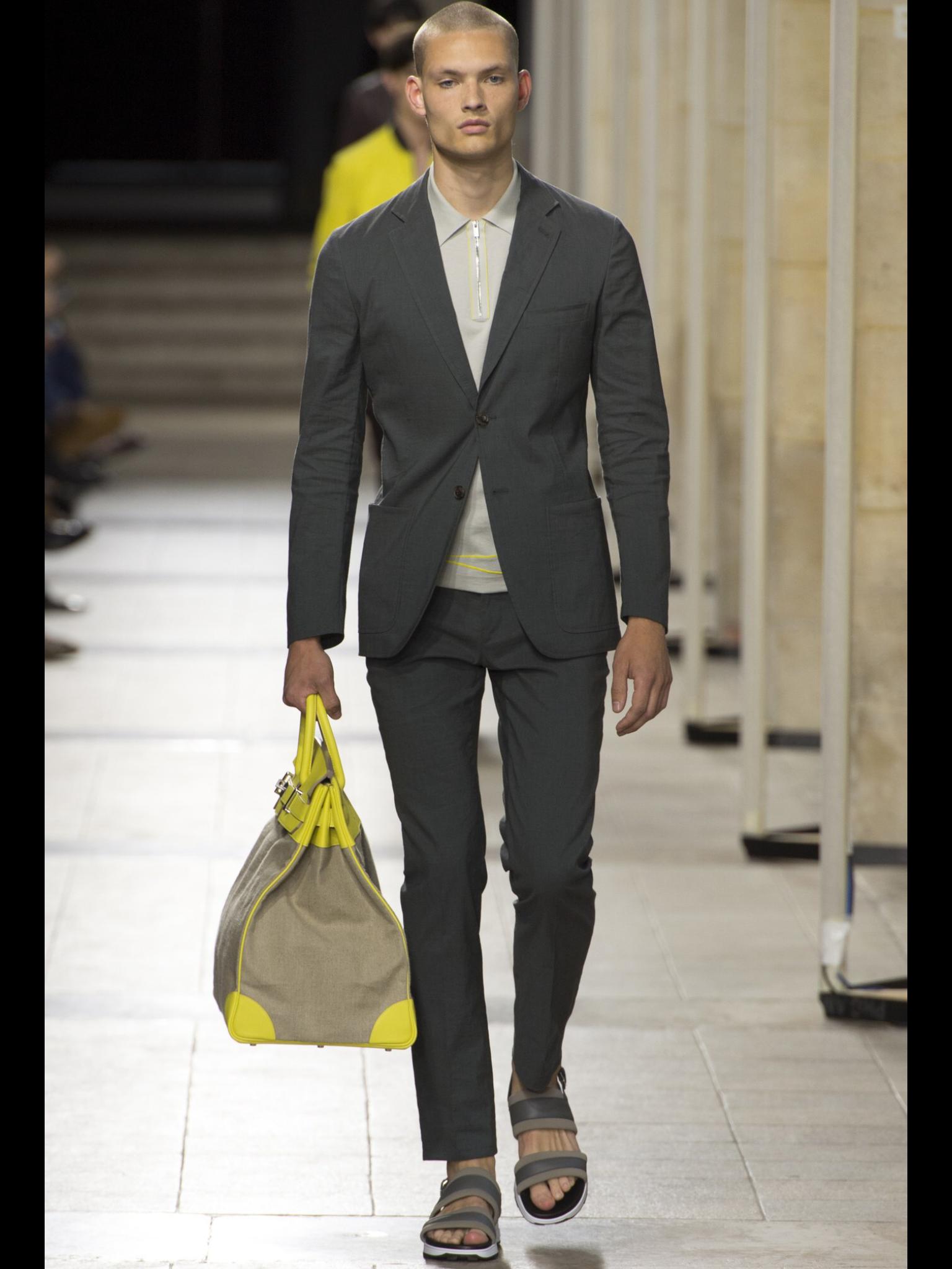Hermès Spring 2017 Menswear collection. Menswear