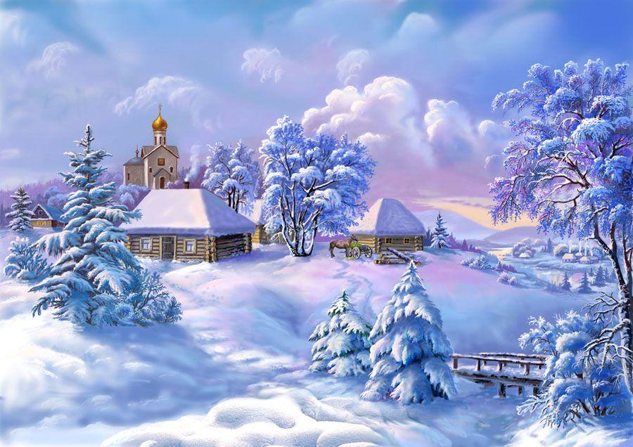 Открытка на зимнюю, картинки шумахеры