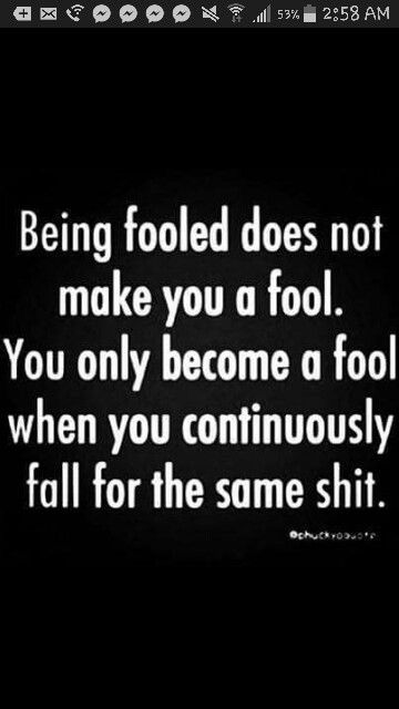 Being Fooled Fool Continuously Fall For Same Stuff Computer