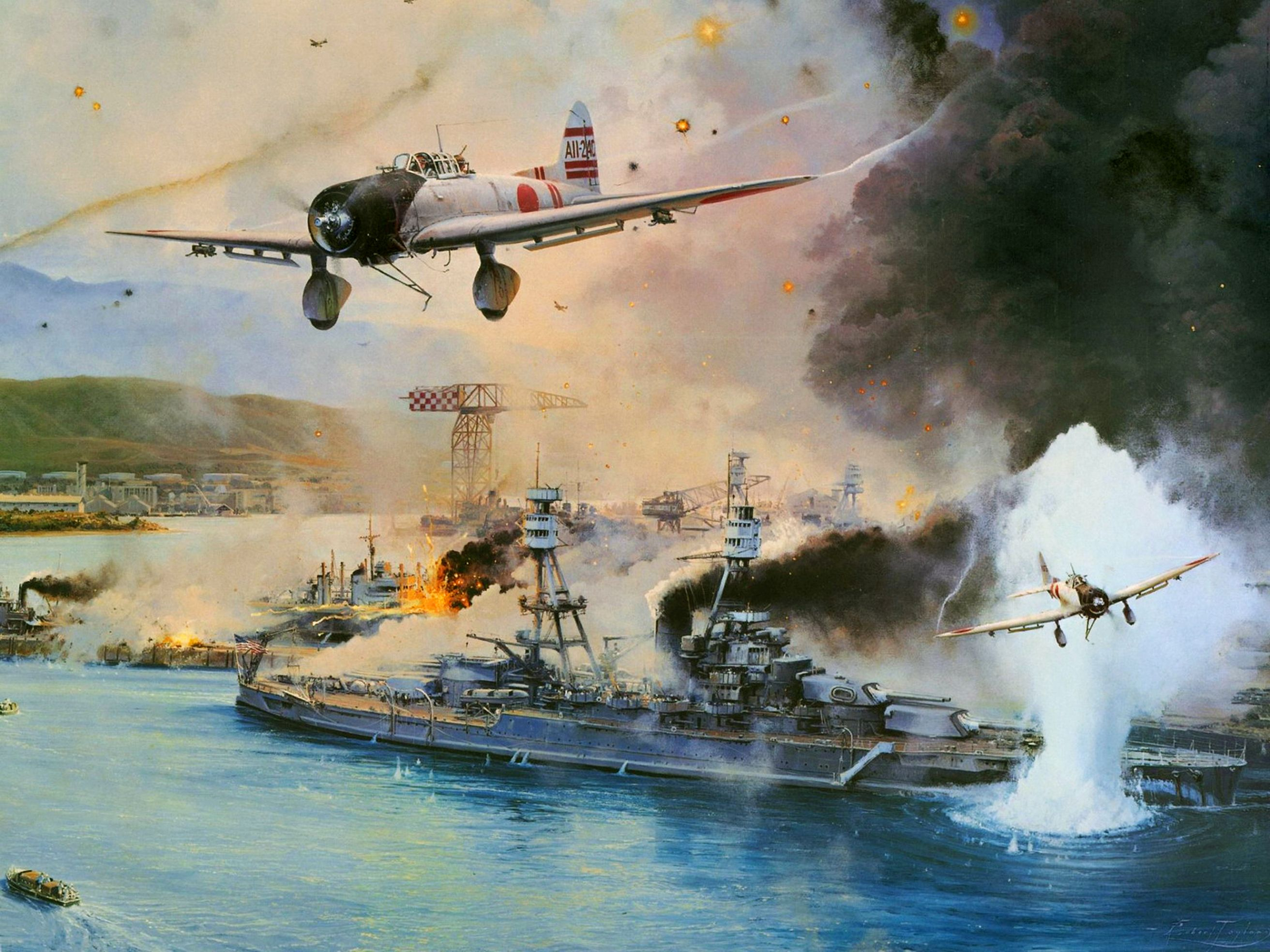 Remember Pearl Harbor By Robert Taylor Aichi D3a1 Val