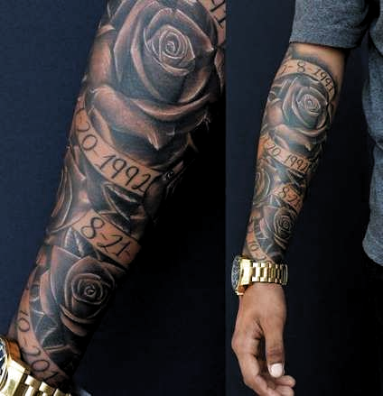 Basket Ball Tattoos For Men Sleeve Fonts 29 Ideas Basket In 2020 Best Sleeve Tattoos Sleeve Tattoos Tattoos