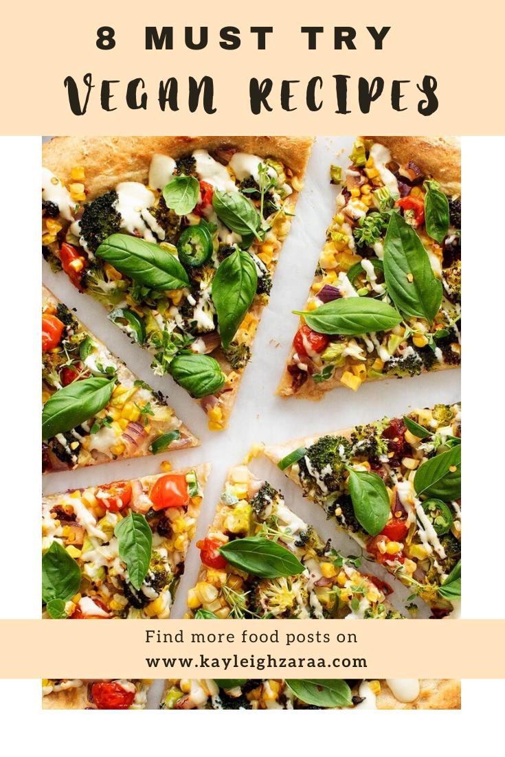 Delicious Vegan Recipes To Try In 2020 Vegan Recipes Uk Vegetarian Recipes Recipes
