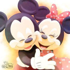 最高の壁紙 19年 可愛い ミッキー イラスト ミッキー イラスト ミニーマウスのイラスト ディズニーアート