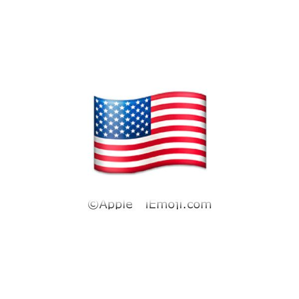 United States Flag ❤ liked on Polyvore featuring emoji, iemoji and