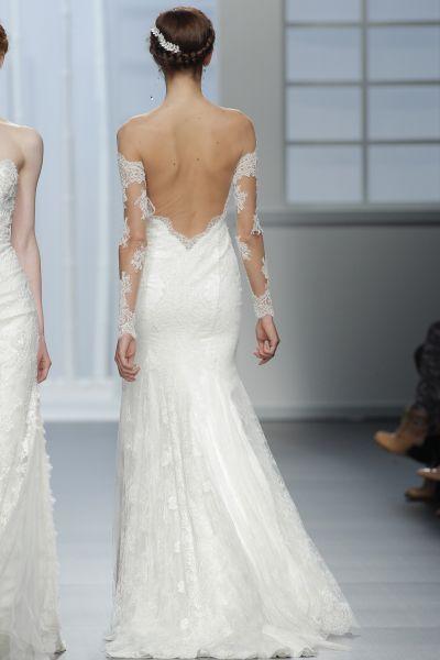Vestidos de noiva com costas abertas 2016: sensuais mas elegantes Image: 16