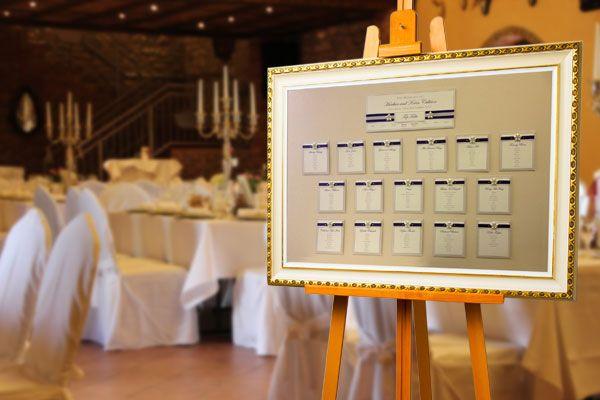 Hochzeit Tischplan, Sitzplan, Sitzplatz-Tafel ...