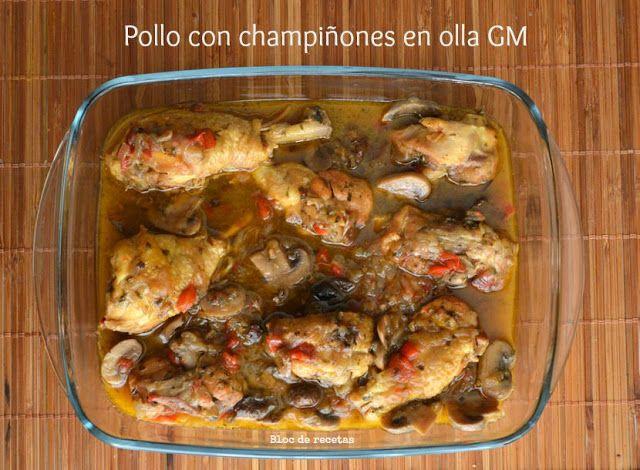 Pollo Con Champiñones En Olla Programable Gm Pollo Con Champiñones Pollo Comida