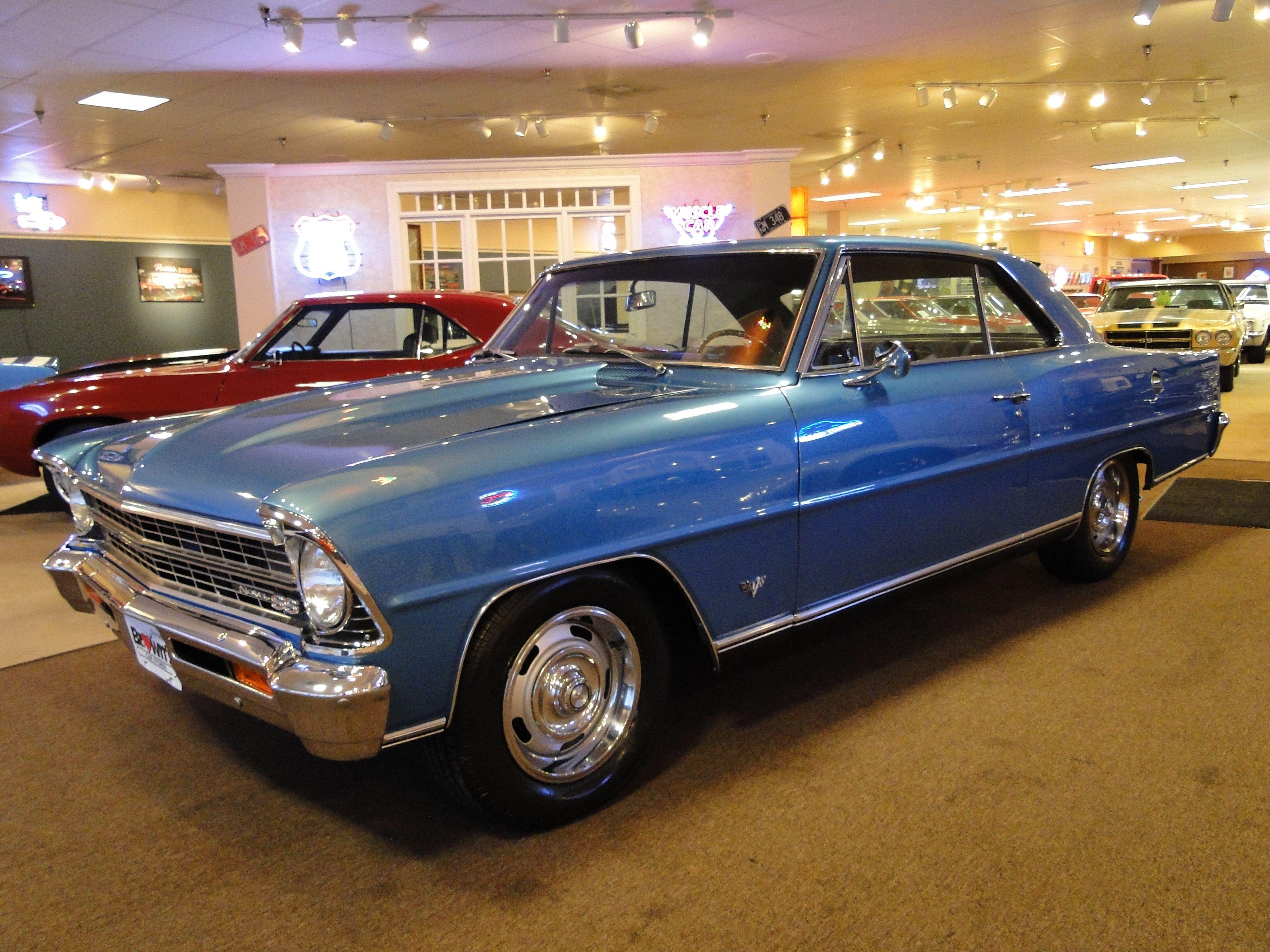 1967 chevy nova ss for sale | New 1967 Chevrolet Nova SS Numbers ...