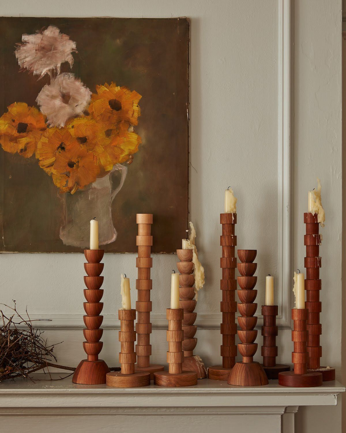 Phenomenal Franc Candle Holders In 2019 Vingette Wooden Candle Interior Design Ideas Gentotryabchikinfo