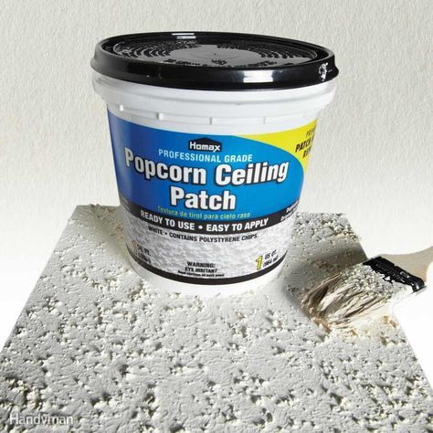 Wall And Ceiling Repair Simplified 11 Clever Tricks With Images Popcorn Ceiling Popcorn Ceiling Repair Ceiling