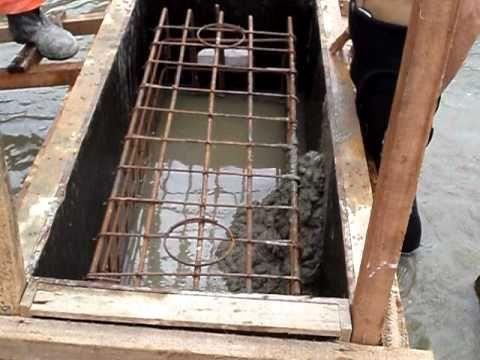 MOV00559.AVI concreto armado semi submerso da A&G Construcoes