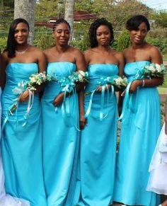 Malibu Blue Wedding Google Search Malibu Blue Bridesmaid Dresses