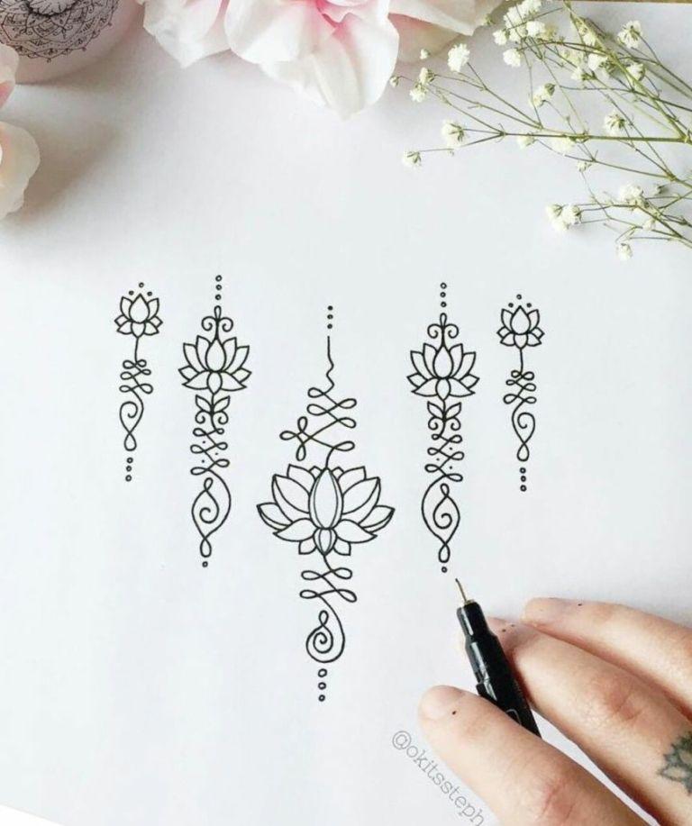 Tatuagem unalome: o que significa e onde tatuar