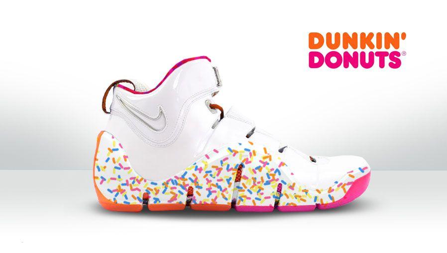 583755125a9 LeBron James  Nike Zoom LeBron IV 4 Dunkin Donuts