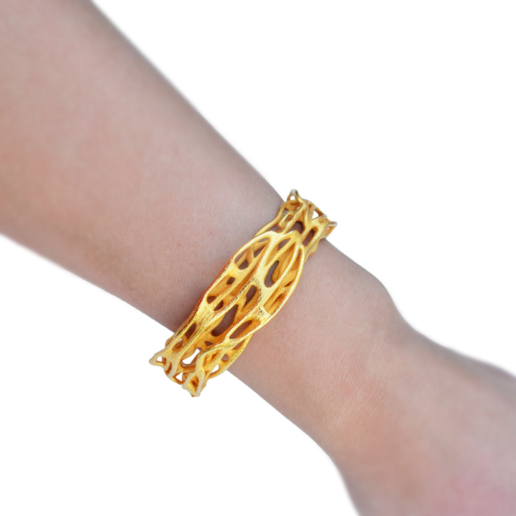 chain handcrafted designs gold curve modern double bracelet design product jewelry