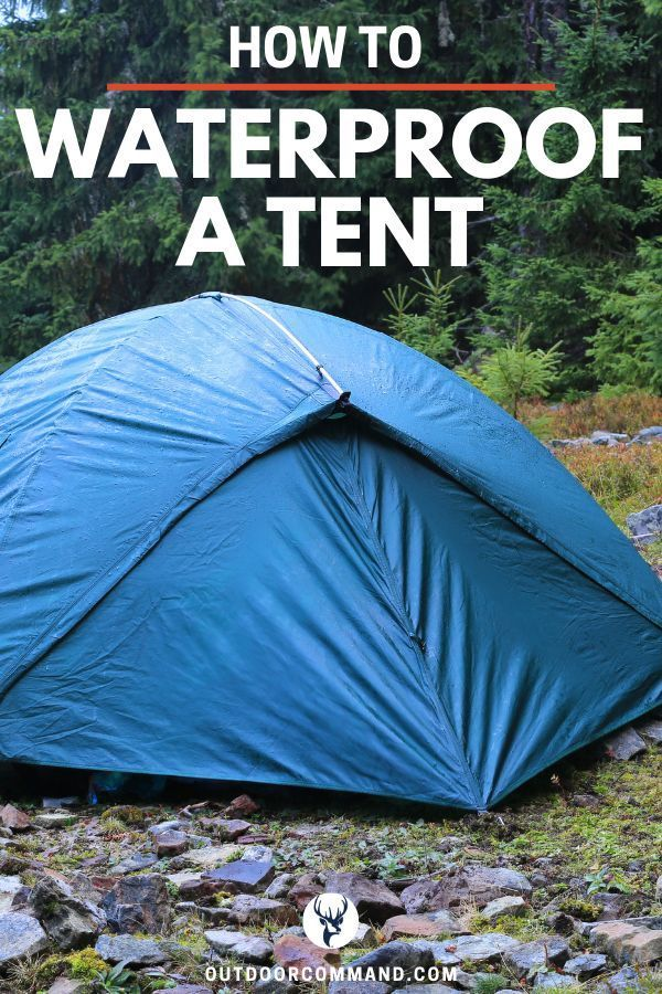 Waterproof How to waterproof a tent Camping can be great but not when youre struggling to keep your sleeping bags families and shelters dry Read up on how to waterproof y...