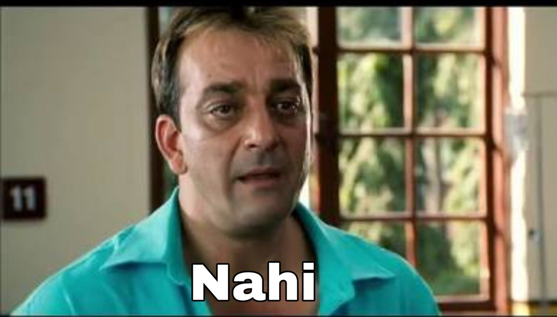 Sanjay Dutt Munna bhai MBBS Nahi | Bollywood funny, Funny taglines, Funny  dialogues