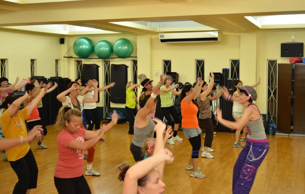 Zumba Fitness Class at the Gold's Gym Saipan #myzumbaparty | Zumba ...