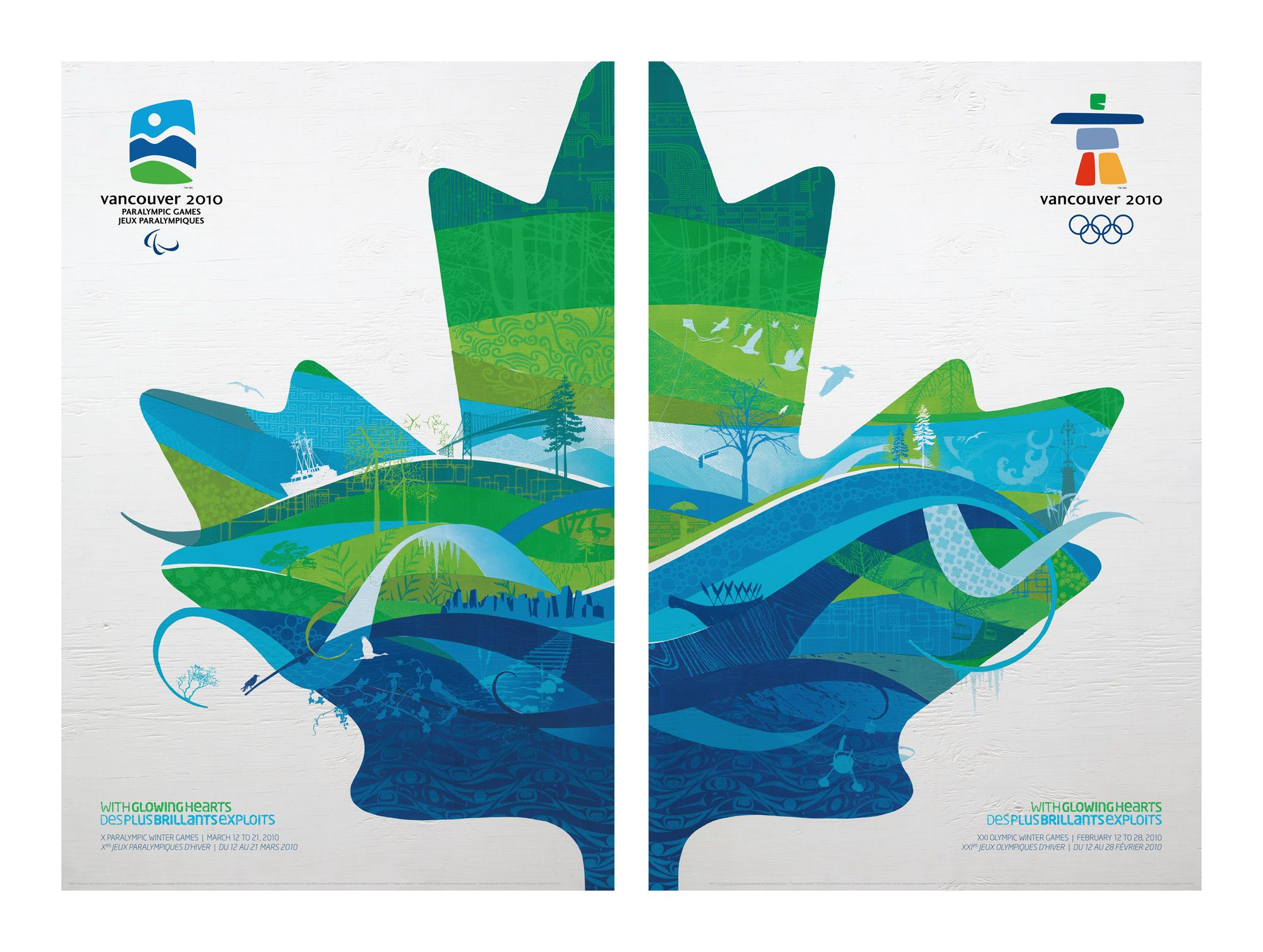 Poster design vancouver - Vancouver 2010 Olympics Poster