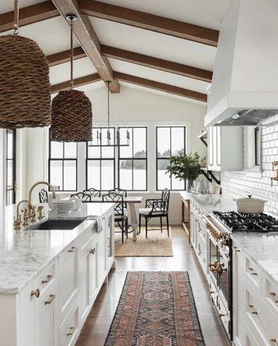 60 Farmhouse Kitchen Ideas - Farmhouse Goals