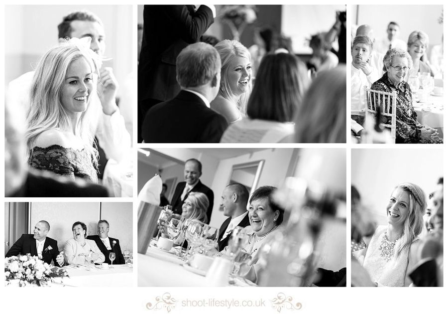 Wedding Breakfast at Whirlowbrook Hall