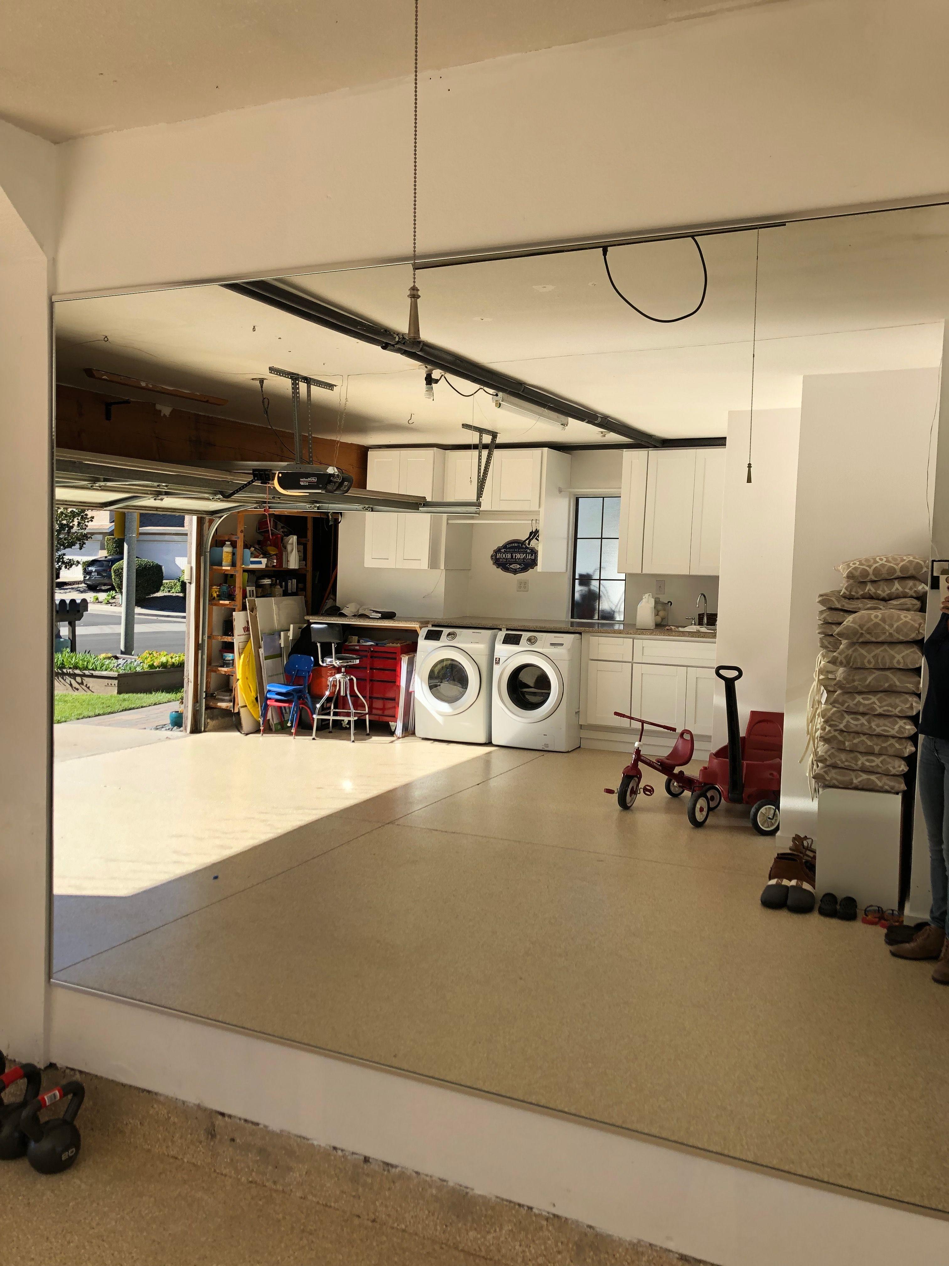 Garage gym mirror 6x8 mirror by affordable mirrors