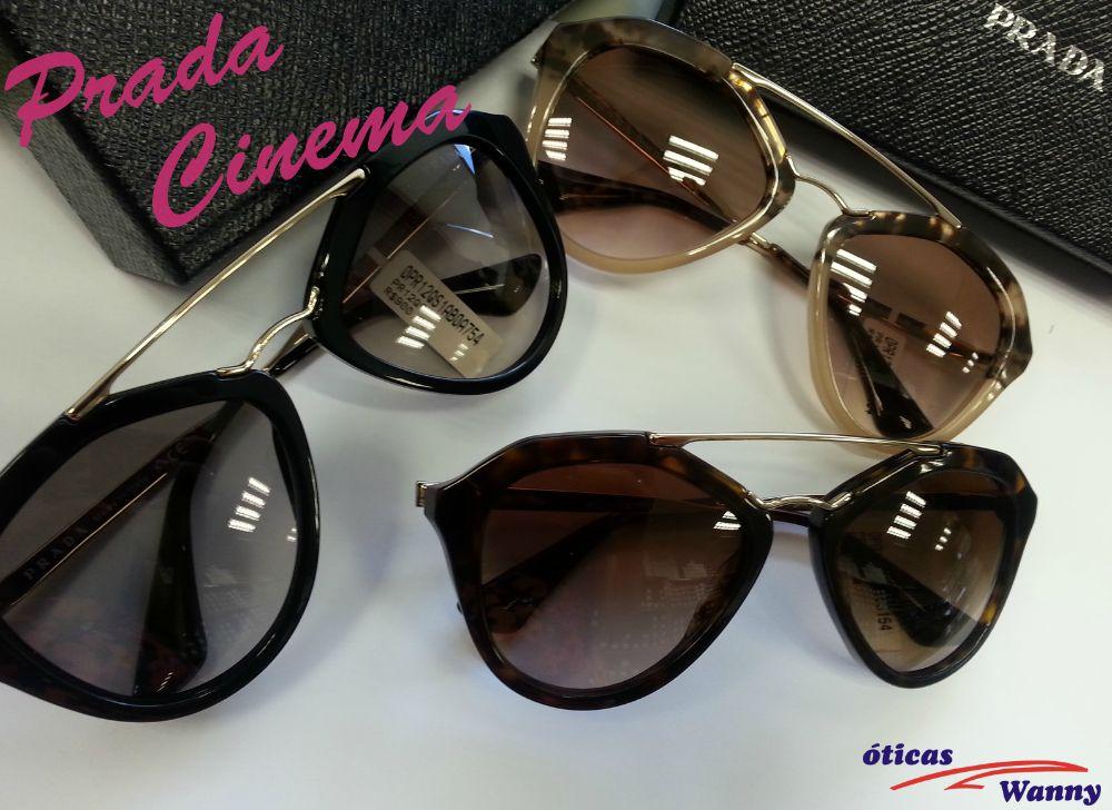 Já escolheu o seu Prada Cinema favorito !  oculos  de  sol  oticas  wanny   aviador  retro  moderno  online  shop  sunglasses  color  eyewear f891d7dac92f