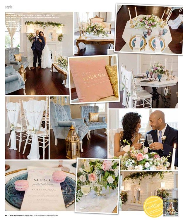 Sacramento Wedding Inspiration: Heaven Sent {The Layout