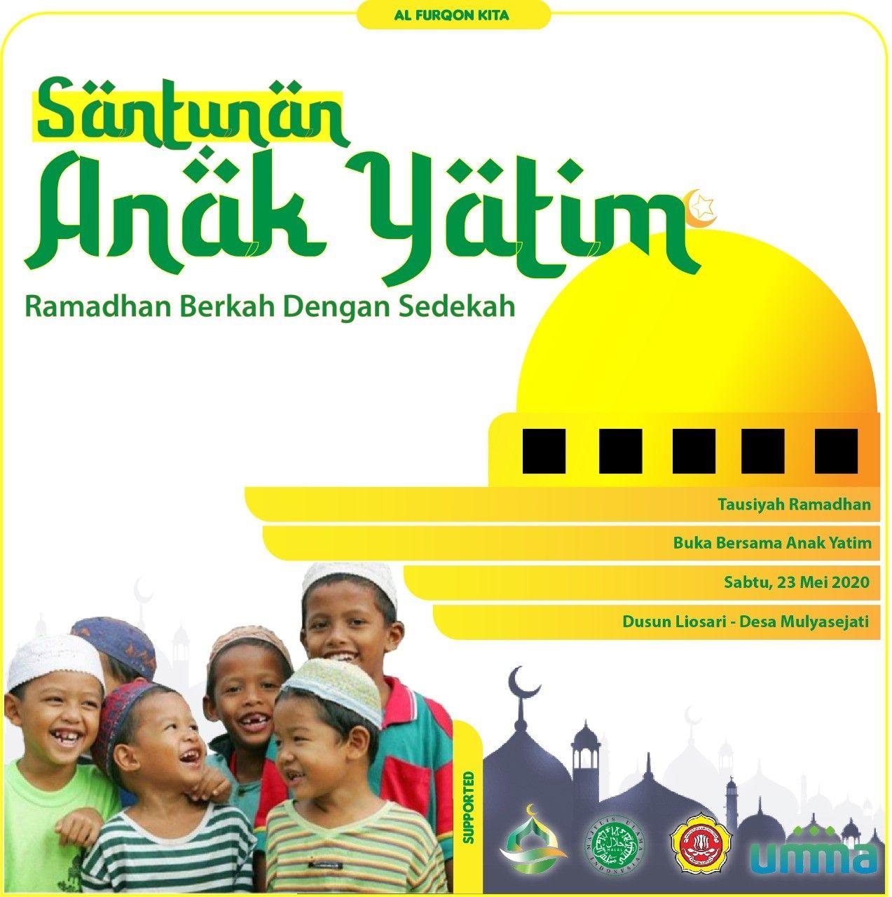 Santunan Yatim   Agama, Anak, Poster