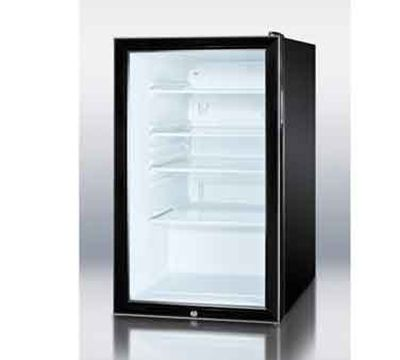 Summit Scr500bl7 20 W Undercounter Refrigerator W 1 Section 1 Door 115v With Images All Refrigerator Glass Door Refrigerator Glass Door