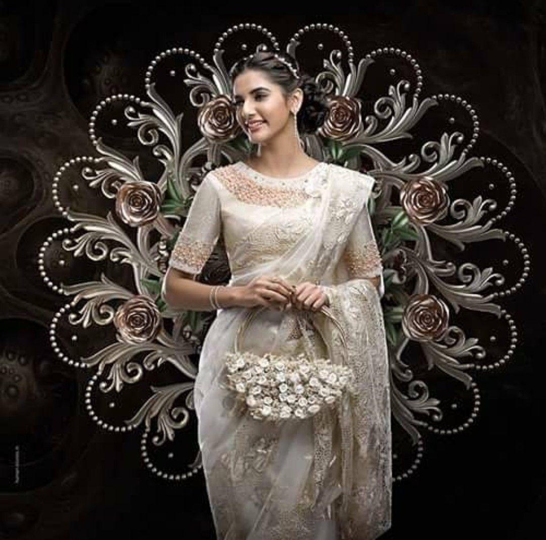 Pin by Renu Peter on Happy Brides | Pinterest | Saree, Wedding ...
