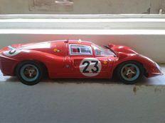 Jouef Evolution - Scala 1/18 - Ferrari 330 P4 1° re aux 24 heures de Daytona 1967