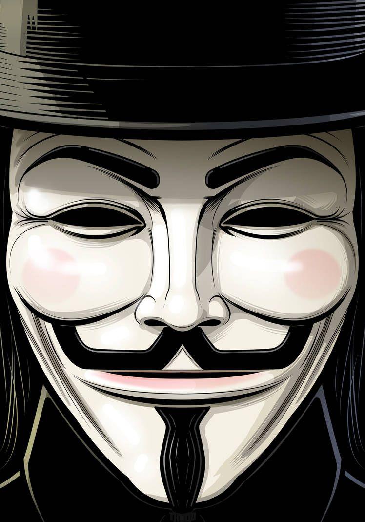 Guy Fawkes V For Vendetta By Https Www Deviantart Com Thuddleston On Deviantart V For Vendetta Guy Fawkes Joker Art