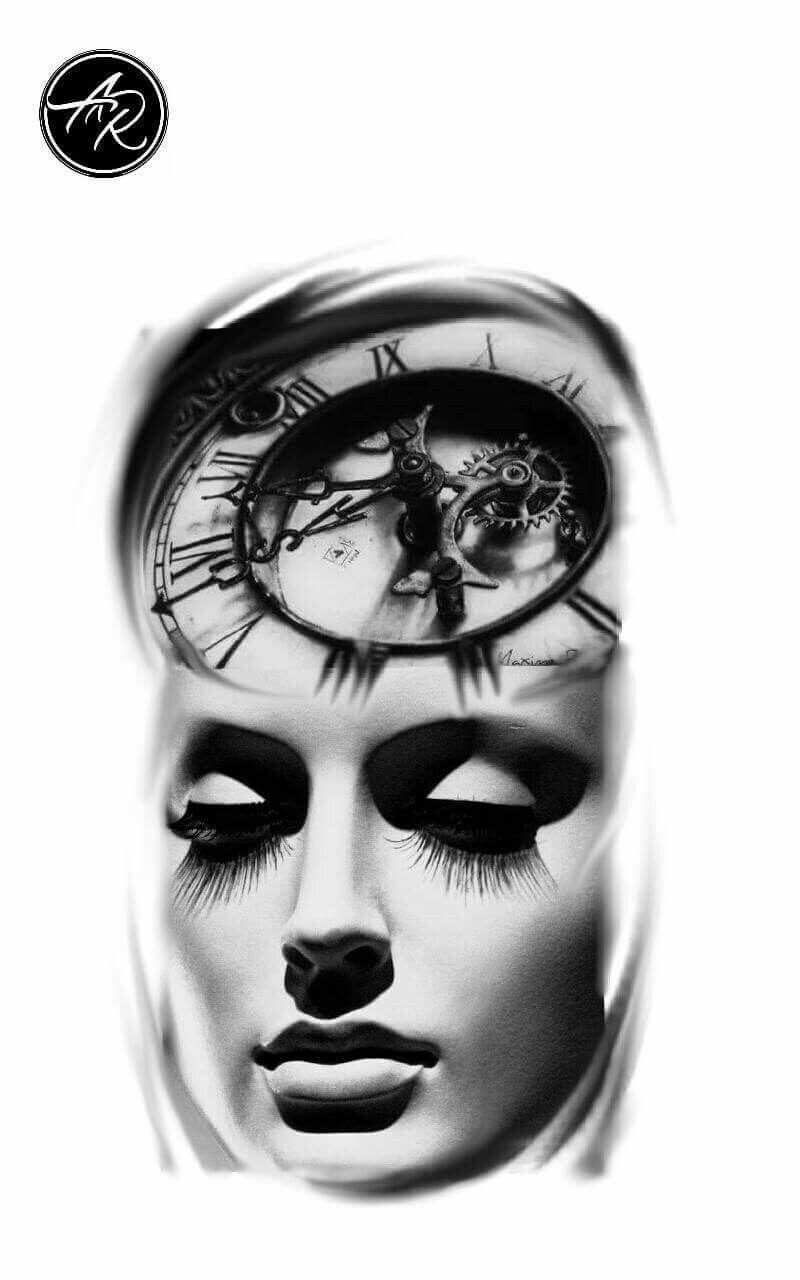 Pin By Shannon Blinn On Women Photoshop Tattoo Girl Face Tattoo