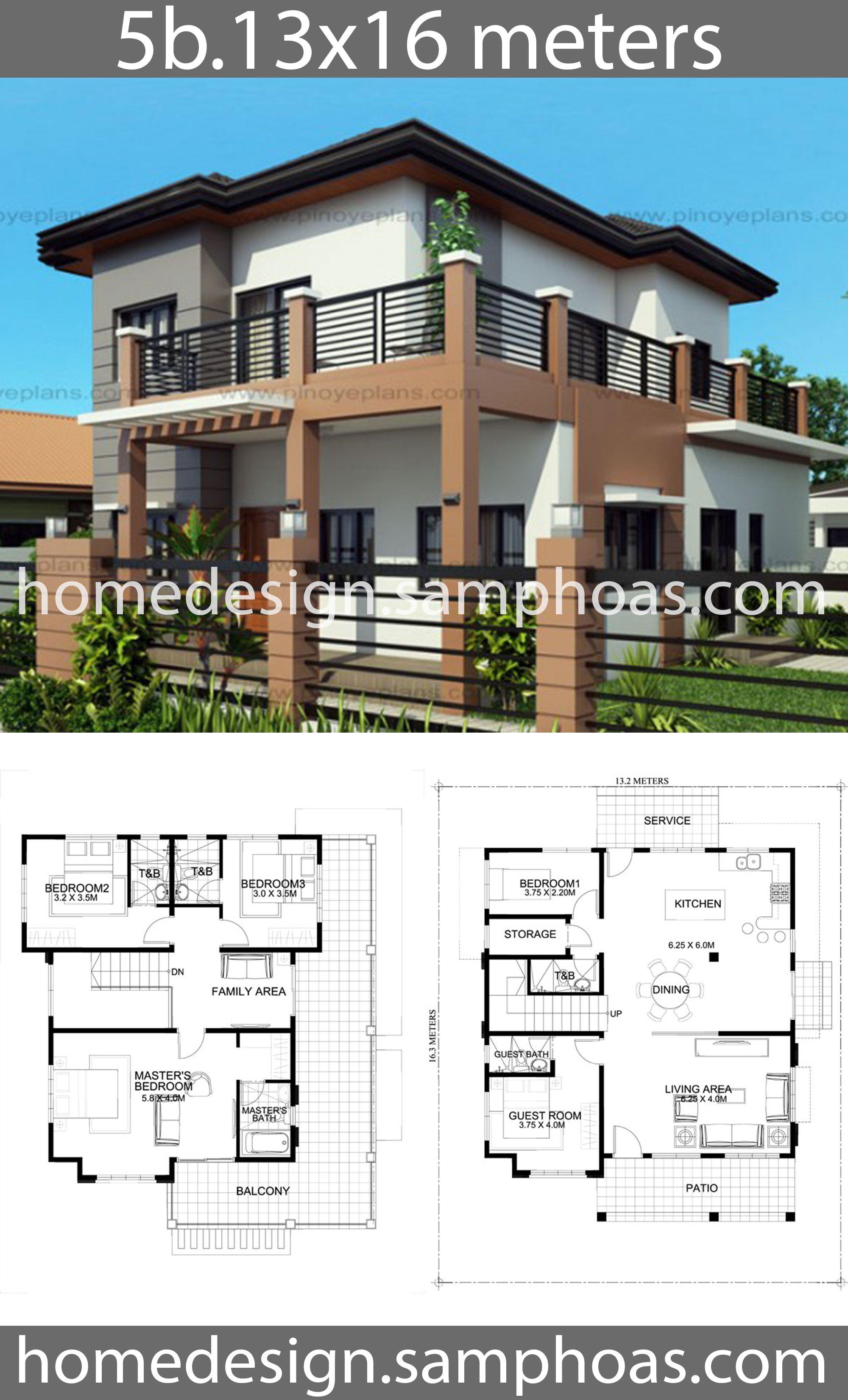 Pin By Furqon Adv On House Plans Idea Home Design Plans House Design Two Story House Design