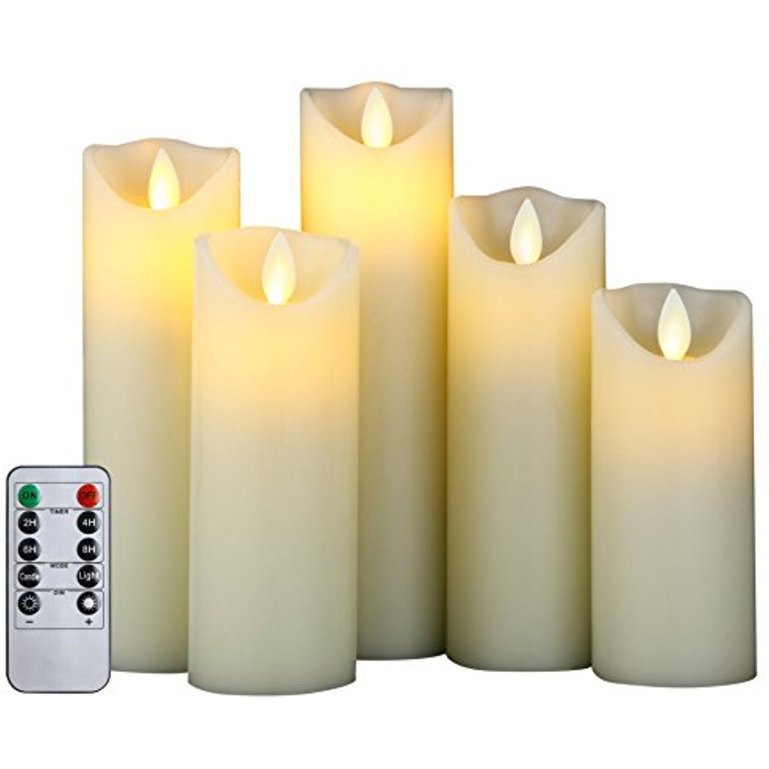 Cefun Flameless Led Candles Battery Operated Flickering Candles