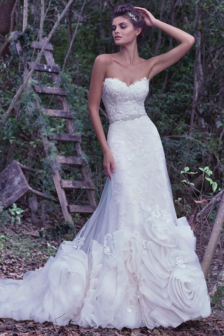 Amy's wedding dress  Wedding Gown Gallery  Amyus wedding  Pinterest  Maggie sottero