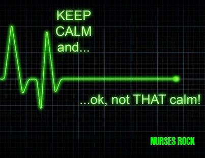 What's wrong with this kinda calm? LOL Nurses could use a peaceful practice. #nursecollab
