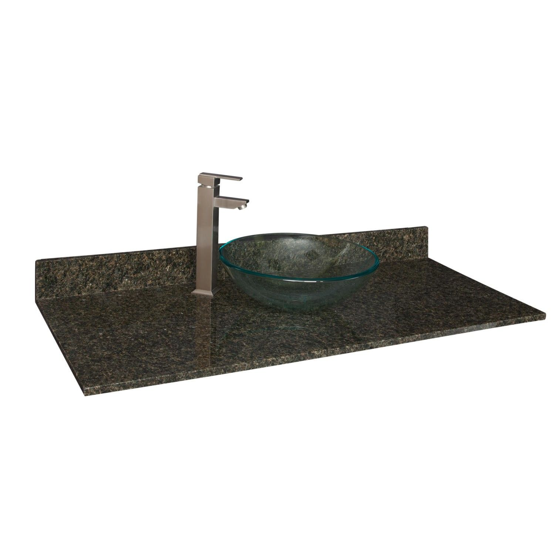 Website Picture Gallery  x Granite Vanity Top for Vessel Sink